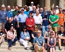 group shot awards picnic summer 2019 at the David Dunlap Observatory by Peter Visima