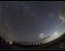 2012 Perseid Meteor Shower, by Bill Longo, RASC Member