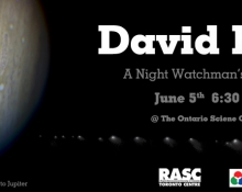 David Levy @ The Ontario Science Centre June 5, 6:30 pm